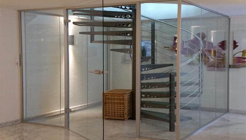 edle glasanlage ganzglasanlage vom glaser in hannover kaufen glaserei glas reparatur. Black Bedroom Furniture Sets. Home Design Ideas
